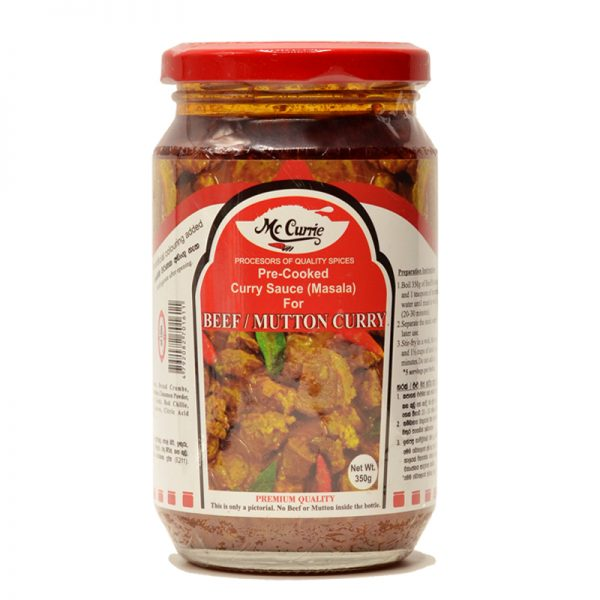 Mc Currie Beef / Mutton Curry Mix 350g