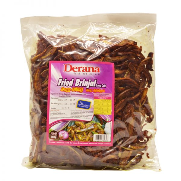 Derana Fried Brinjal (Ready to Cook) 300g
