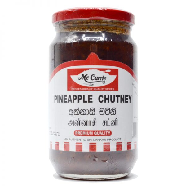 Mc Currie Pineapple Chutney 450g