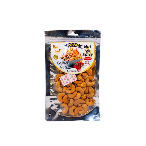 Royal Hot & Spicy Cashew 100g