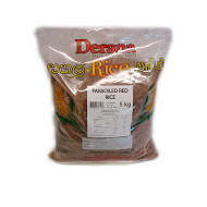 Derana - Parboiled Red Rice 5kg Pkts (oryza Sativa)