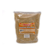 Derana Parboiled White Rice 1kg pack