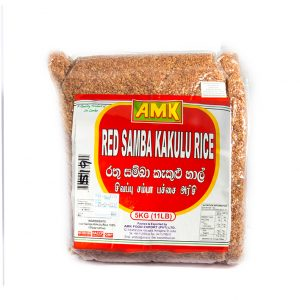 AMK - Red Samba Kekulu Rice 5Kg