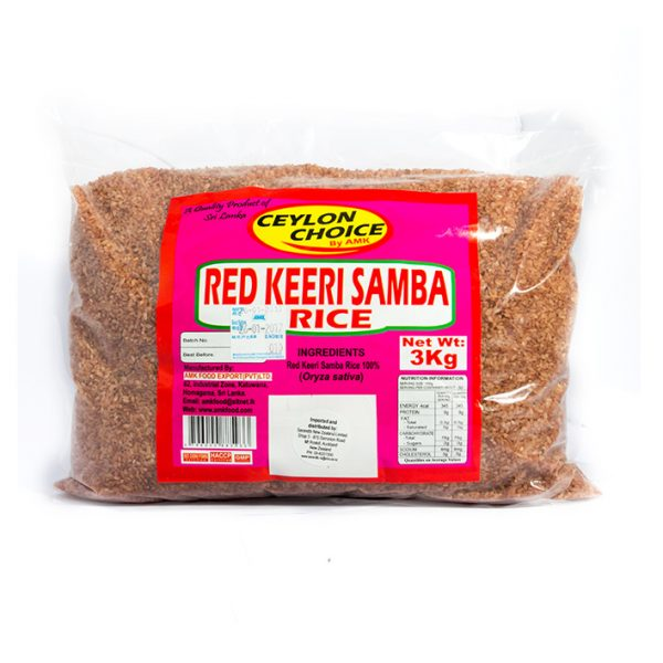 AMK Red Keeri Samba Rice 3Kg pack