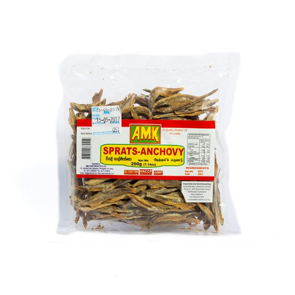 AMK Headless Sprats 200g pack