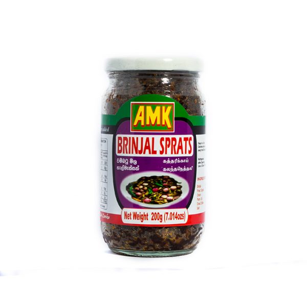 AMK – Brinjal With Sprats 200g 1