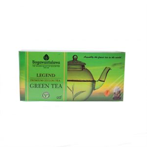 Bogawanthalawa Legend Green Tea 25 Bags