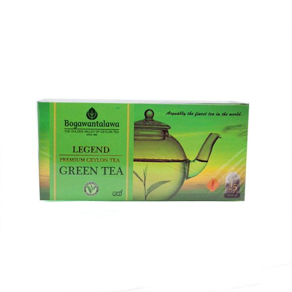 Bogawanthalawa Legend Green Tea 25 Bags 1