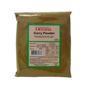 Derana - Curry Powder 250g Pkts