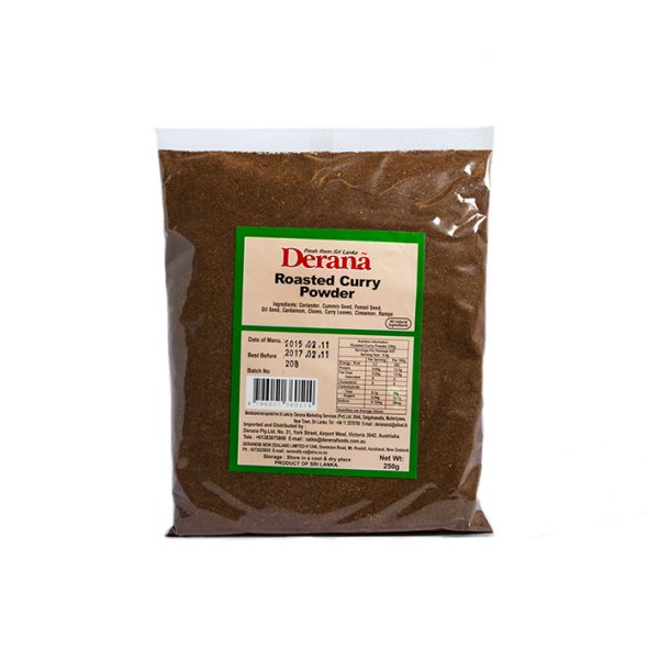 Derana  Roasted Curry Powder 250g