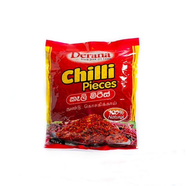 Derana Chilli Pieces 250g