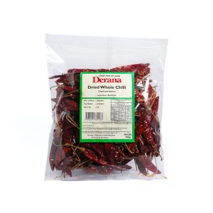 Derana - Dried Whole Chilli 100g Pkts(capsicum Annum)