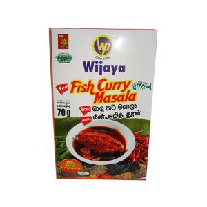 Wijaya Fish Curry 70g Pkts