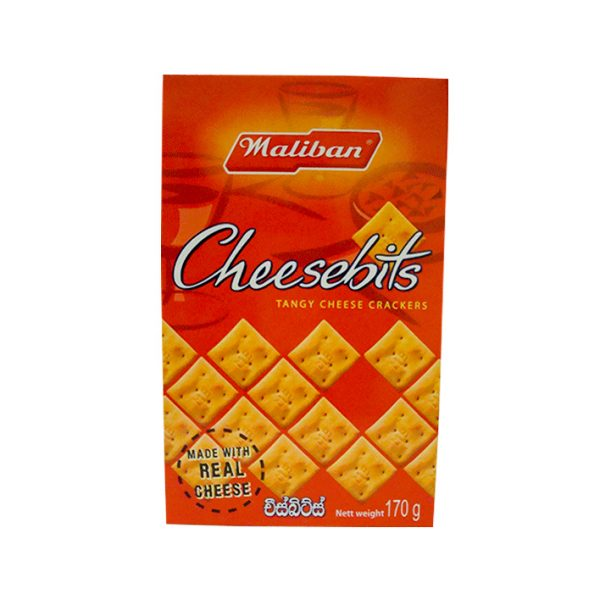 Maliban – Cheese Bits 170g 1