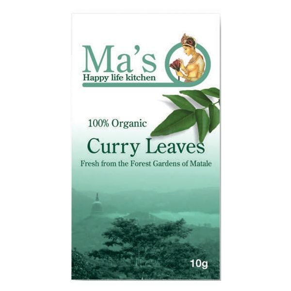 Ma's Organic Curry Leaves 10g