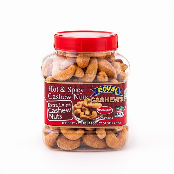 Royal Hot & Spicy Cashew Nuts 250g